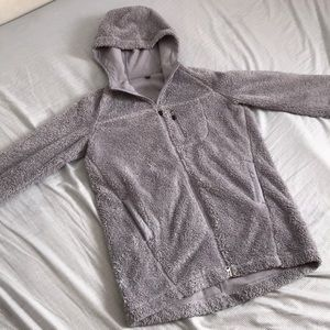 Uniqlo Lavender Teddy jacket Size S